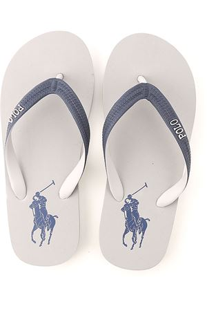 FLIP FLOPS WITH LOGO POLO RALPH LAUREN | 5032258 | 816787977005