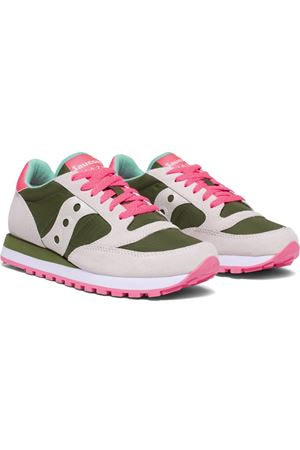 Jazz Original Green/White/Pink Sneaker SAUCONY | 5032238 | 1044566