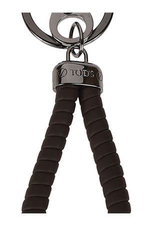 Portachiavi Twist marrone XAMBRVG0100FLRS800 TOD