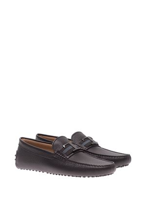 T PENNY BAR LEATHER LOAFERS TOD
