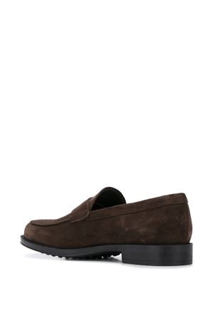BROWN SUEDE LOAFERS TOD