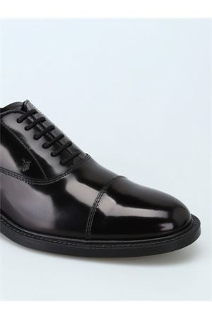 Brushed leather Oxford lace-up shoes TOD