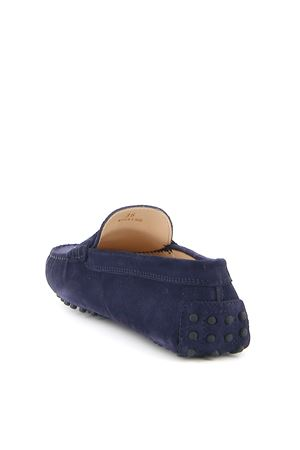 GOMMINO BLUE SUEDE LOAFERS