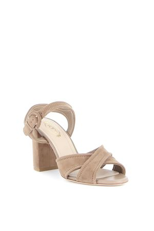 SUEDE LEATHER SANDALS TOD