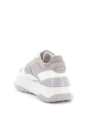 Sneakers In Leather And High-Tech Fabric TOD