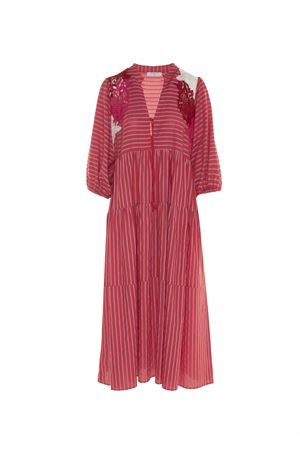 RED STRIPED DRESS BEATRICE B | 11 | 651182725220