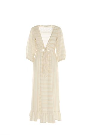 LONG BEIGE DRESS BEATRICE B | 11 | 6546432941120