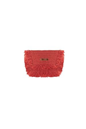RED POCHETTE BEATRICE B | 62 | 9588STRAW350