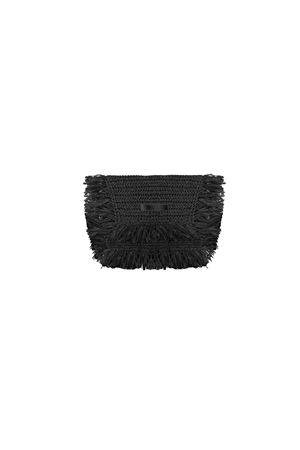 BLACK POCHETTE BEATRICE B | 62 | 9588STRAW99