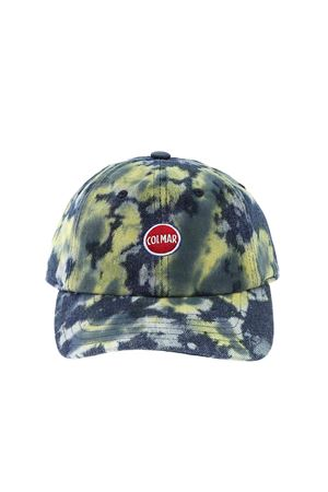 MIXY CAP IN BLUE AND GREEN COLMAR | 26 | 50754WF02