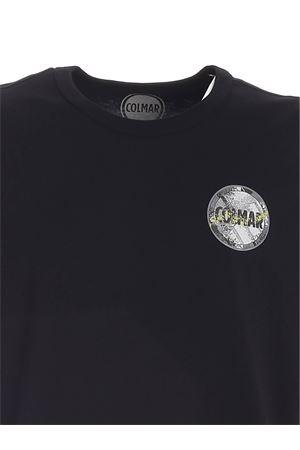 T-SHIRT NERA CON STAMPA LOGO 75856SH99 COLMAR | 8 | 75856SH99