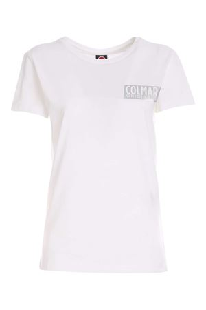 LOGO PRINT T-SHIRT IN WHITE COLMAR | 8 | 86866SH01