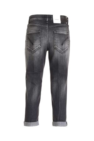 KOONS JEWEL BUTTON JEANS IN GREY DONDUP | 24 | DP268BDS0272DBC7DD999