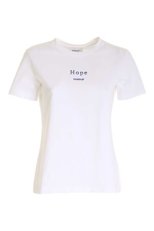 HOPE EMBROIDERY T-SHIRT IN WHITE