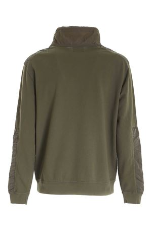 DRAWSTRING SWEATSHIRT IN GREEN