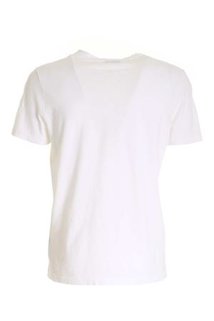 DONDUP BARCODE T-SHIRT IN WHITE DONDUP | 8 | US198JF0195UBG8DU000