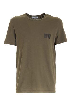 PRINT T-SHIRT IN GREEN DONDUP | 8 | US198JF0195UBG8DU635