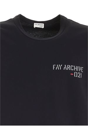 T-SHIRT - FAY ARCHIVE FAY | 8 | NPMB342105LTGGU807