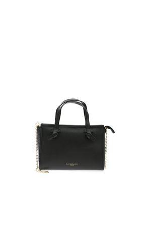BLACK BAG WITH SHOULDER STRAP GIANNI CHIARINI | 70000001 | BSM8361PLGRN001