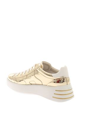 REBEL SNEAKERS IN GOLD COLOR HOGAN CAPSULE | 5032238 | GYW5640DN60PZX4195