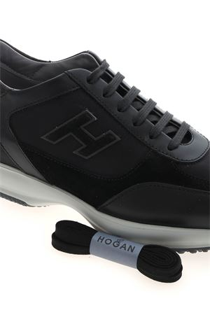 INTERACTIVE SNEAKERS IN BLACK HOGAN | 120000001 | HXM00N0Q101PDH175E