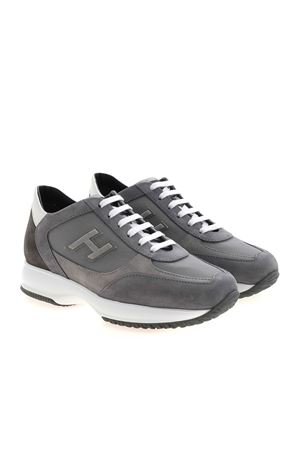 INTERACTIVE SNEAKERS IN GREY HOGAN | 120000001 | HXM00N0Q101PDU647L