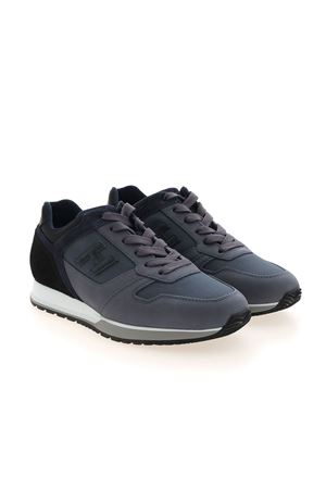 H321 SNEAKERS IN BLUE AND BLACK HOGAN | 120000001 | HXM3210Y860P9S844Z