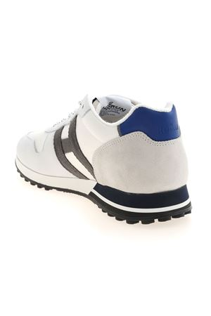H383 SNEAKERS IN WHITE AND BLUE HOGAN | 120000001 | HXM3830AN51PGJ617U