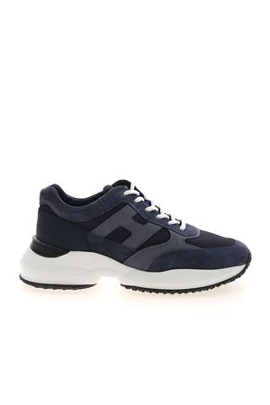INTERACTION SNEAKERS IN BLUE HOGAN | 120000001 | HXM5450DN90PNS615E