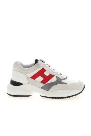 INTERACTION SNEAKERS IN WHITE HOGAN | 120000001 | HXM5450DN90PNX615G