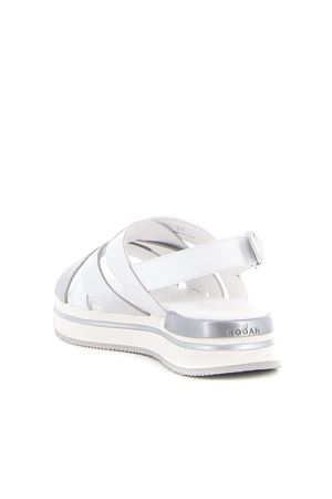 CROSSOVER STRAP SANDALS IN WHITE HOGAN | 5032241 | HXW2570DK80PDR0906