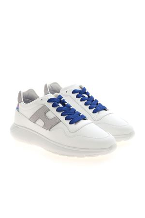INTERACTIVE 3 SNEAKERS IN WHITE AND SILVER HOGAN | 120000001 | HXW3710AP22PDE0351