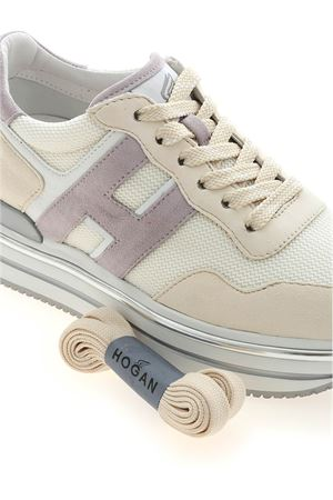 H468 SNEAKERS IN BEIGE AND WHITE HOGAN | 120000001 | HXW4680CB81PQB0RS3