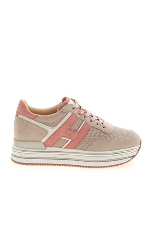 H468 SNEAKERS IN PINK AND BEIGE HOGAN | 120000001 | HXW4680CB81PQB0RT4
