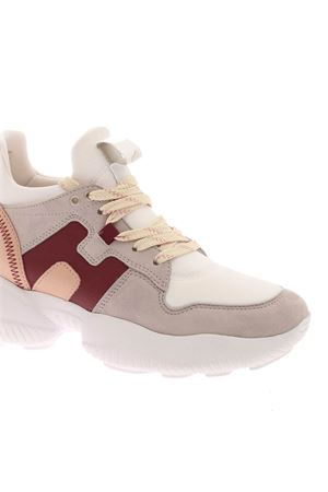 INTERACTION SNEAKERS IN WHITE,BEIGE AND PINK HOGAN | 5032238 | HXW5250CH20PBI0RSY