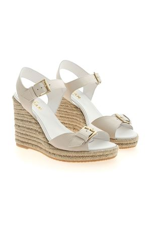 H558 SANDALS IN IVORY COLOR HOGAN | 5032241 | HXW5580DL20P7KB018