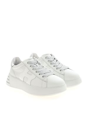 WHITE REBEL SNEAKERS HOGAN | 5032238 | HXW5640DN60PK10351