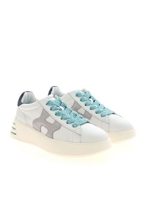 REBEL H564 SNEAKERS IN WHITE  HOGAN | 5032238 | HXW5640DN60PK40RB1