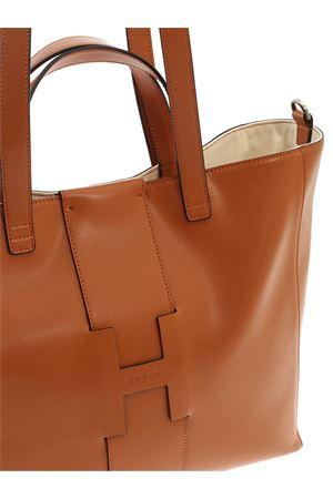 LARGE SHOPPER BAG IN BROWN HOGAN | 5032266 | KBW01BA2400J60S009