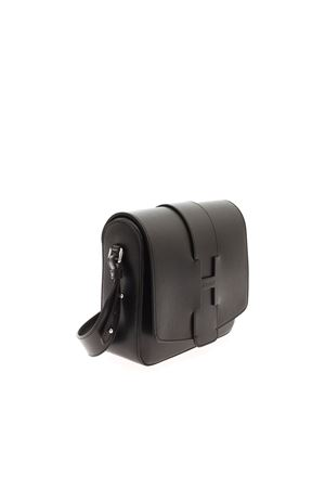LARGE CROSSBODY BAG IN BLACK HOGAN | 70000001 | KBW01BI1201J60B999
