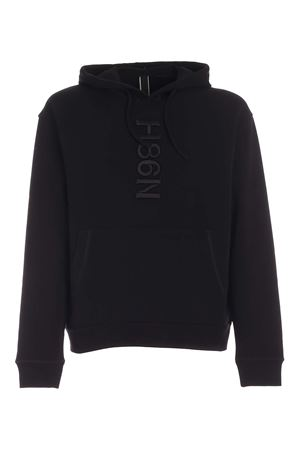 LOGO EMBROIDERY SWEATSHIRT IN BLACK HOGAN | -108764232 | KQUB5423110RVSB999