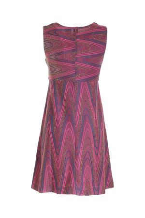 LAMÉ KNIT DRESS IN PURPLE M MISSONI | 11 | 2DG005562J0051L302N