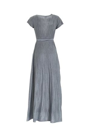 LAMÉ KNITTED DRESS IN PALE BLUE COLOR M MISSONI | 11 | 2DG005842K008YL903T