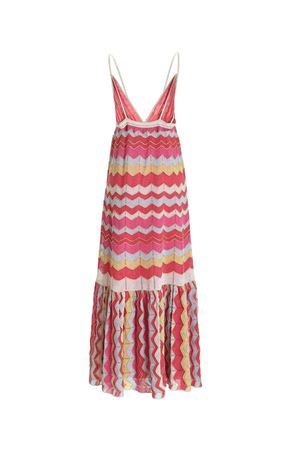 LAMÉ KNITTED MULTICOLOR DRESS M MISSONI | 11 | 2DG006272K009EL401S