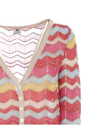 LAMÉ KNITTED MULTICOLOR CROP CARDIGAN M MISSONI | 39 | 2DM001602K009EL401S