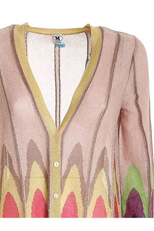 LAMÉ KNIT CARDIGAN IN NUDE COLOR M MISSONI | 39 | 2DM001622K009DL302V