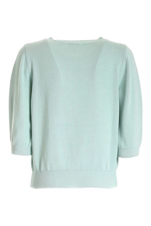 COTTON CARDIGAN IN AQUAMARINE COLOR