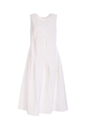 SLEEVELESS DRESS IN WHITE MALO | 11 | DXS047F3A24EL780