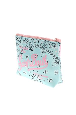 ALINE BANDANNA BAG IN LIGHT BLUE