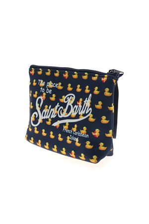 ALINE DUCKY BAG IN BLUE AND YELLOW